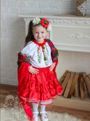 Укр.костюм дівчинка 1