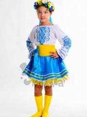 Україночка в блакитному